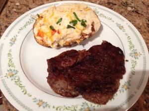 Meat for dinner!