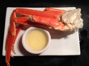 Crab legs appetizer