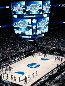 Florida vs Albany in the first round of the NCAA Men's Basketball Tournament