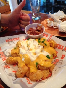 Hooters Lots-a-Tots® - with bacon on the side :-(
