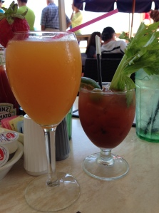 Bellini and Bloody Mary